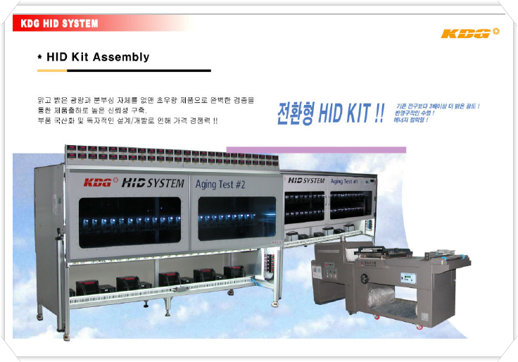 HID KIT Assembly